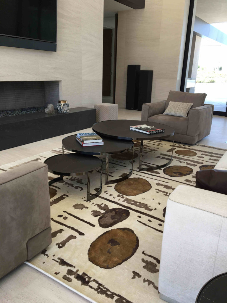 update your family room with custom area rug in Palm Desert
