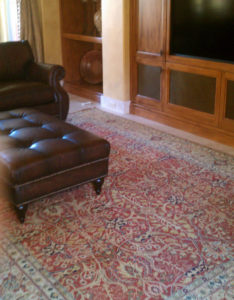 Color area rugs